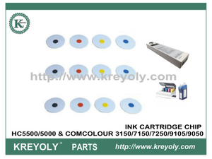 CHIP INCHIOSTRO PER HC5500 / 5000 E COMCOLOUR 3150/7150/7250/9150/9050